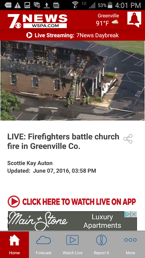 WSPA 7News- screenshot