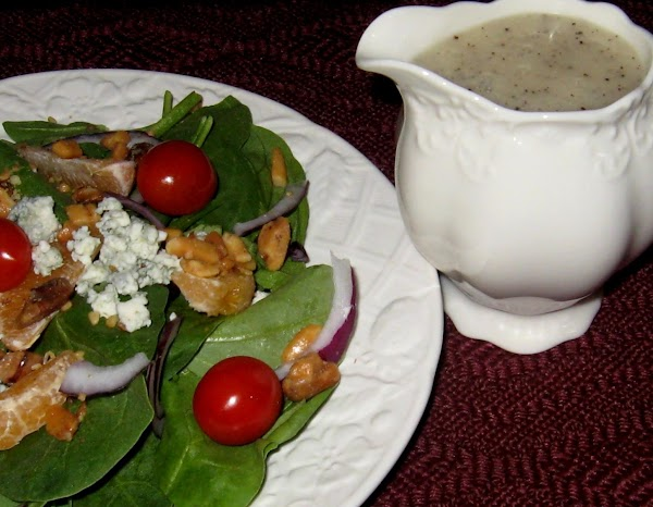 Melissa's Poppy Seed Dressing For Spinach Salad Recipe
