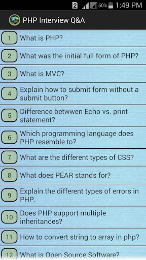 PHP INTERVIEW QUESTION ANSWER
