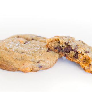 Brown Butter Salted Triple Chip Cookies.