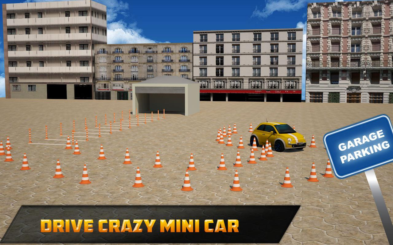 Street Prado Car Parking 3D- screenshot