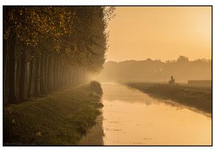 Photo: Landschap. Ochtendnevel. Foto. Bert Morsink