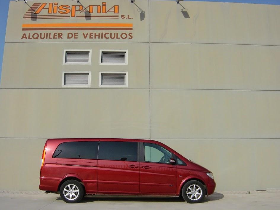 furgonetas de alquiler en Zaragoza, Huesca, Teruel y Salou