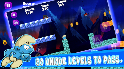 Smurfs in the Leps World Adventure for PC