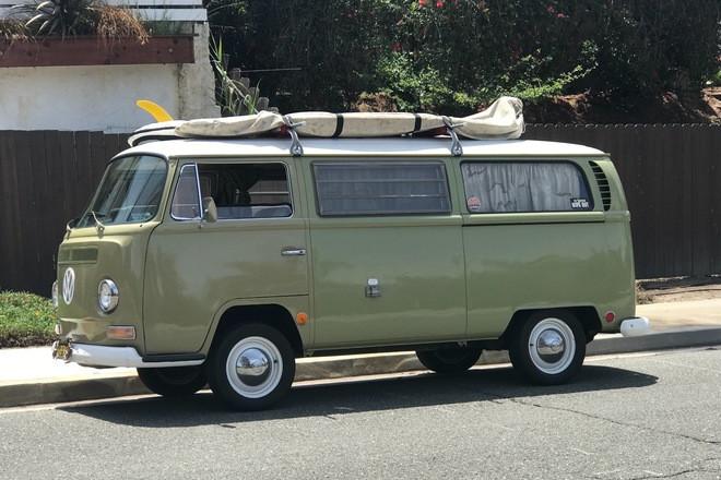 "1968 ""Classic"" VW Camper ""Surf Bus"" Hire CA"
