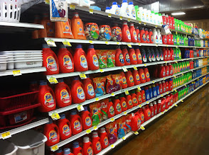 Photo: Needed some washing detergent for our clothes