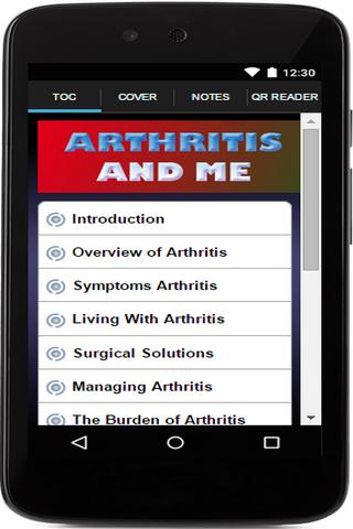 Arthritis And Me