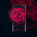 Glamorous Red Rose Launcher icon