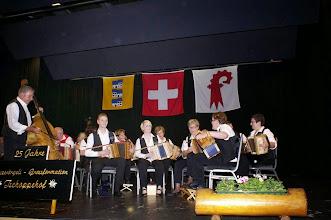 Photo: Mit drei Vorträgen: Seeräuber-Tango,Take me Home Country Roads, Radetzky-Marsch und mit der SGFT zusammen, der  Andreas Enggist-Marsch