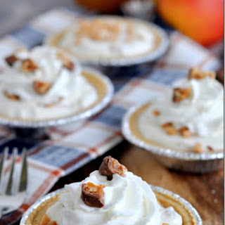 Mini Apple Toffee Pies