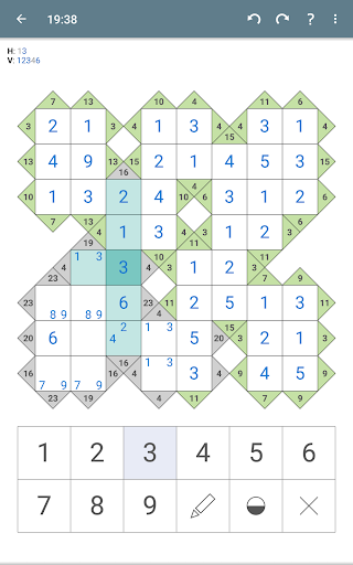 Kakuro (Cross Sums) apkpoly screenshots 22