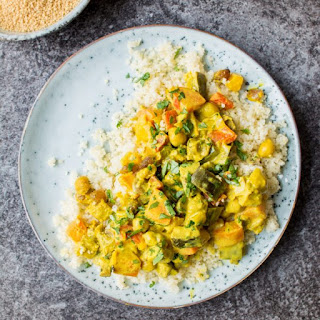 Vegetable Curry with Turmeric Coconut Sauce