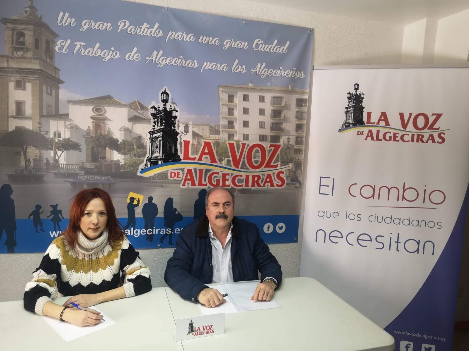 La Voz de Algeciras critica la escasa inversión del ayuntamiento en gasto social