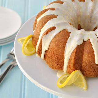 Light Lemon Bundt Cake