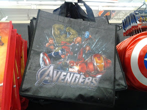 Photo: We were looking at Halloween costumes, but my eyes naturally gravitate to tote bags.