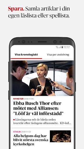 Dagens Nyheter 4.3.1 screenshots 4