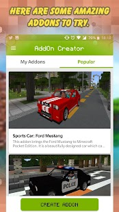 AddOn Creator - AddOns for MCPE - náhled