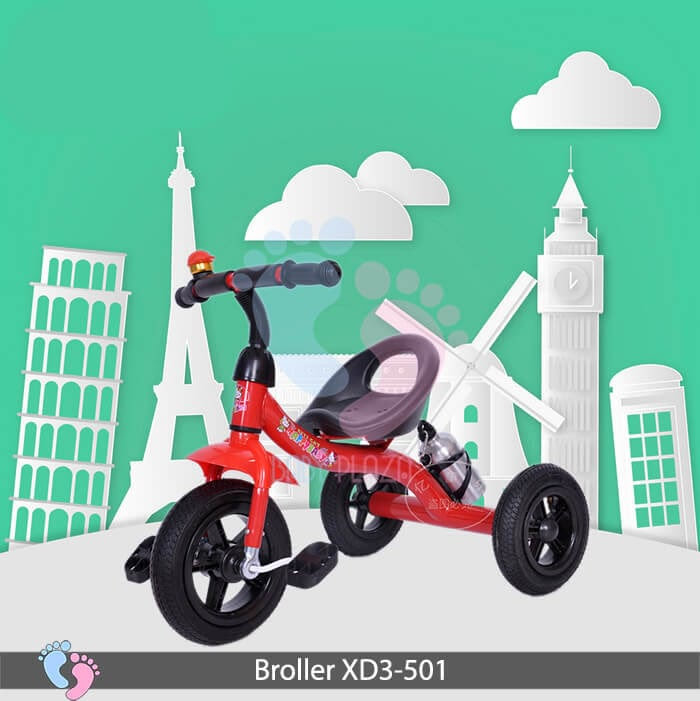 Xe đạp ba bánh Broller XD3-501 1