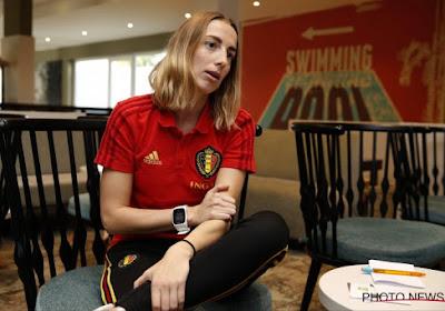 """Charlotte Cranshoff (27) van Standard is ook 'nieuw' bij de Red Flames: """"Twee jaar geleden nooit gedacht hier nu bij te zijn"""""""