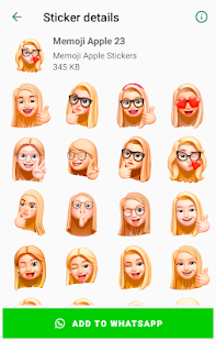 Memoji Apple Stickers for WhatsApp - WAStickerApps