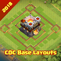 COC Base Layouts icon