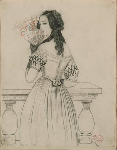 Madame Bergeret (1766 ?), New York, Metropolitan Museum of Art.