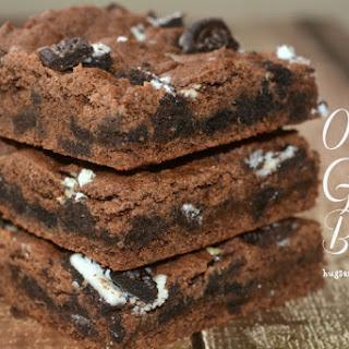 Peanut Butter Oreo Gooey Bars Recipe