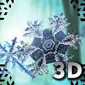 Falling Snowflakes 3D Live Wallpaper Pro icon