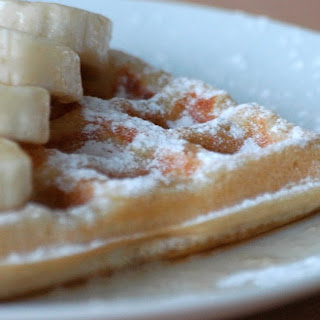 Vanilla and Cinnamon Waffles