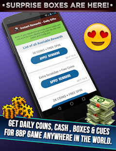 Daily instant Rewards unlimited coins & cash - náhled