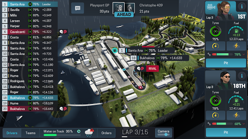 Motorsport Manager Online APK MOD screenshots 2