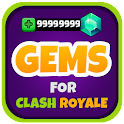 Gems for Clash Royale Prank icon
