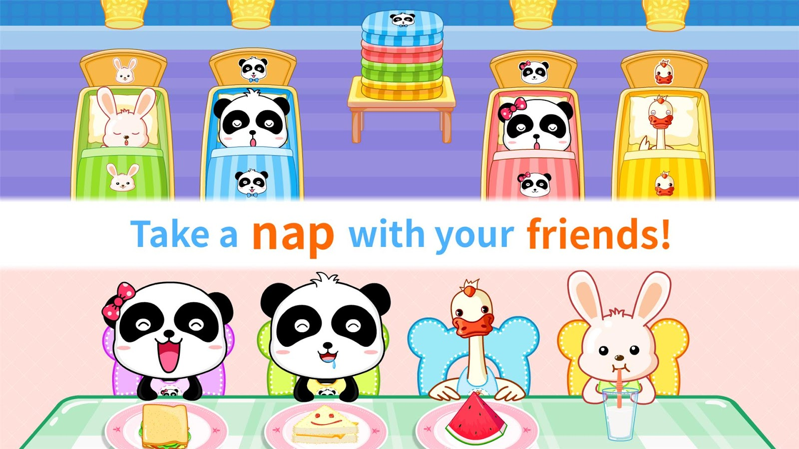 Baby Panda Kindergarten- screenshot