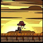 Adventure Western Hatboy runner old dashing cowboy
