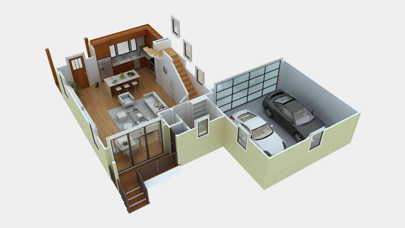3D Home Plan Designs Screenshot