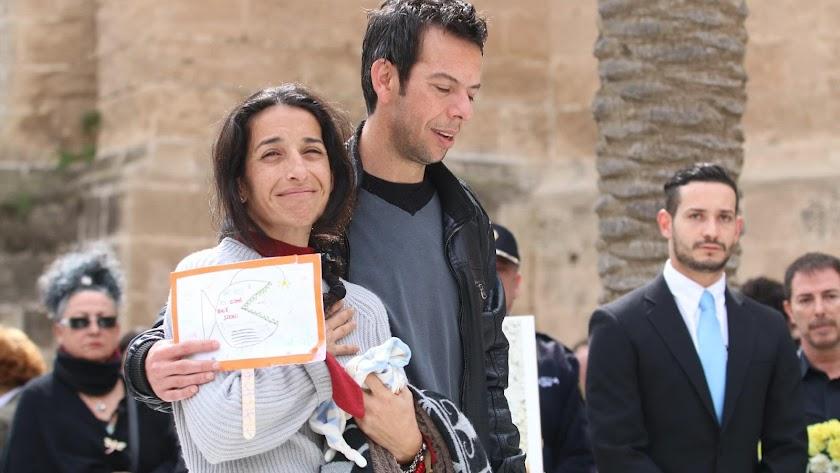 Patricia Ramírez y Ángel Cruz