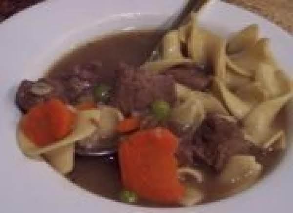 Beef Noodle Soup (crock Pot) Recipe