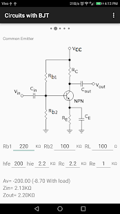 Electronic Circuit Calculation - náhled