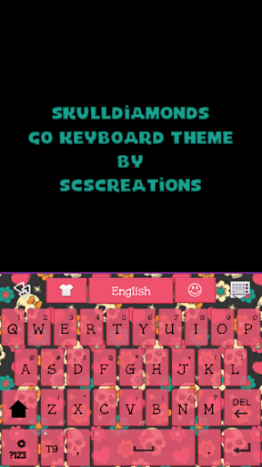 GO KB SKIN - Skull Diamonds