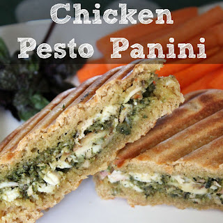 Easy Peasy Chicken Pesto Panini
