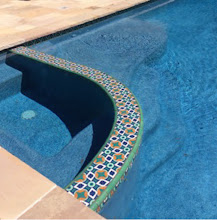 Photo: Malibu Tile Works - Spa Ledge - Private Residence - Berkeley, CA