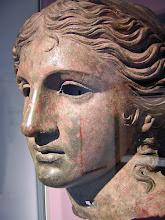 Photo: Bronze head Andrita=Aphrodite. 220-110 BC