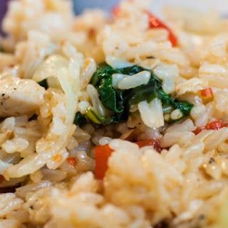 Thai Spicy Basil Chicken Fried Rice Recipe