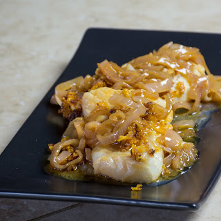 Cod Fillets with Browned Butter-Ale Sauce.