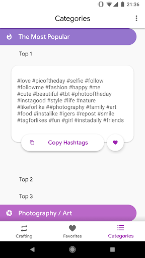 Hashtagify - Automated Hashtags for Instagram 1.0.45 screenshots 5