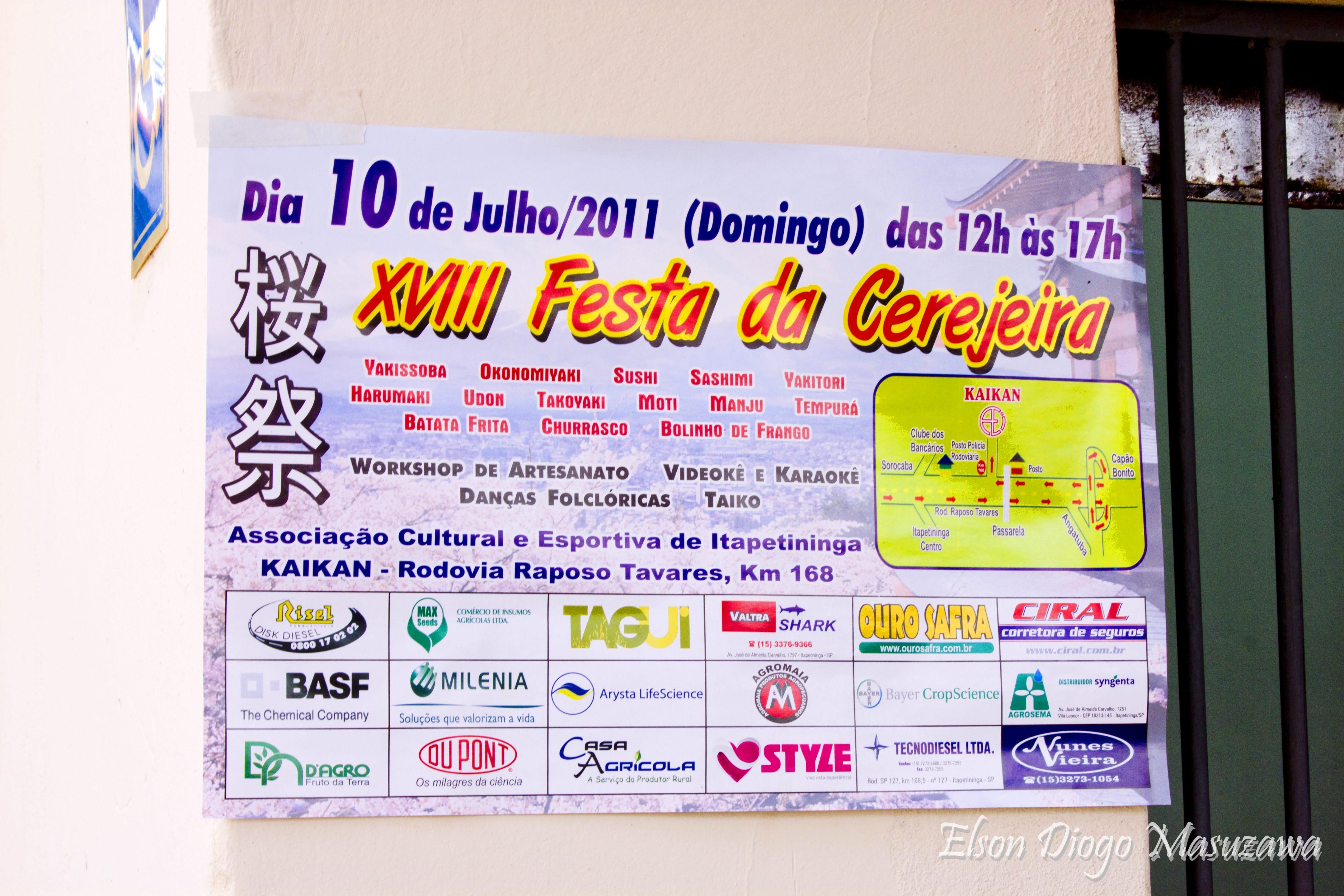 XVIII Festa da Cerejeira de Itapetininga