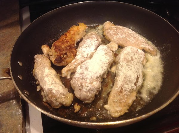 Melt butter or margarine in a large skillet and heat over medium high heat,...