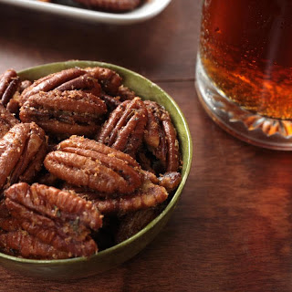 Spiced Candied Pecans.