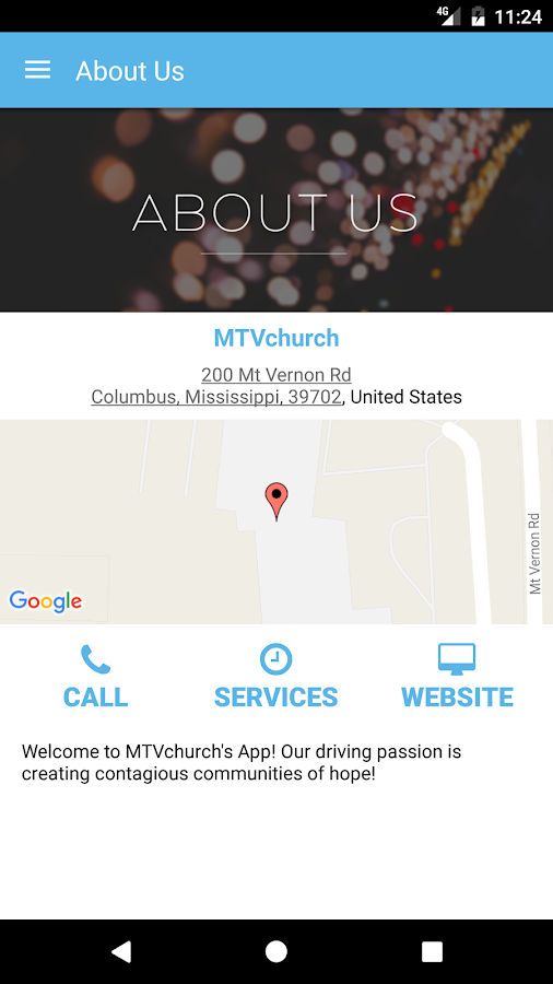 MTV Church App- screenshot