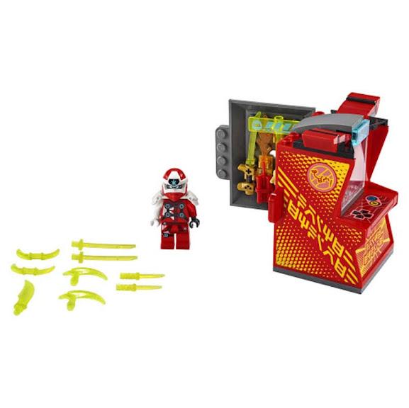 Contenido de Lego® 71714 Cabina de Juego: Avatar de Kai